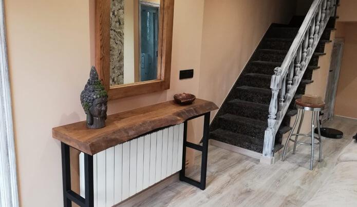 muebles a medida mesa entrada